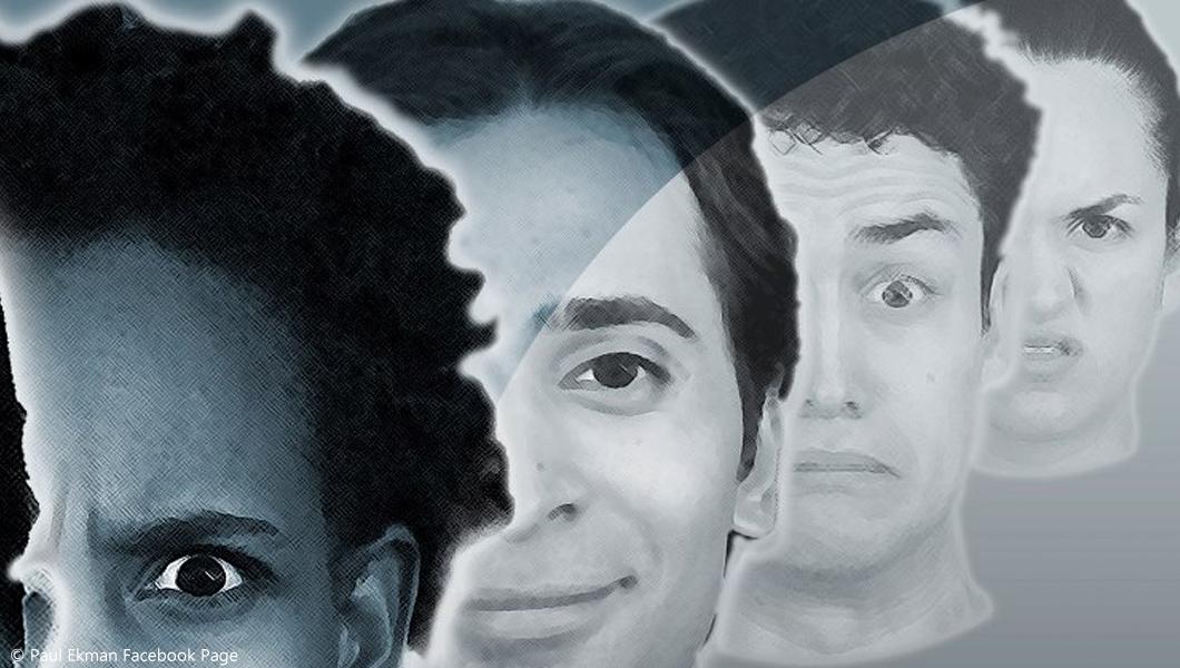 تشخیص چهره و احساسات صورت با پل اکمن