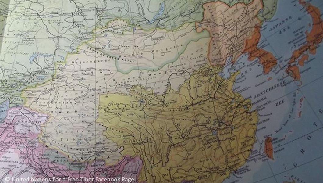 نقشه شرق آسیا