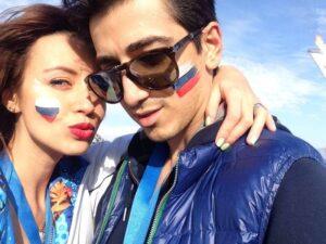 مراد عثمان و دوست دخترش