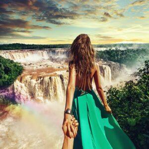 #followmeto the Iguazu waterfalls in Brazil with Nataly.