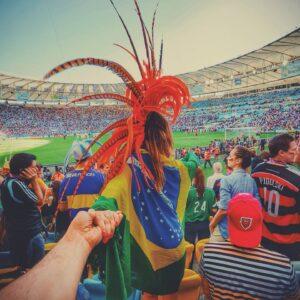 #followmeto the Maracana stadium with @yourleo. FIFA World Cup 2014