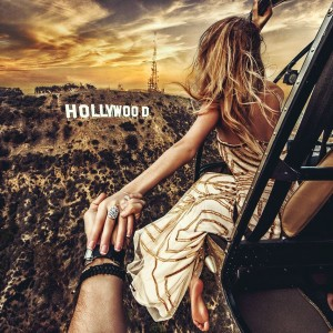 Who needs doors on a helicopter smile emoticon. #followmeto Hollywood