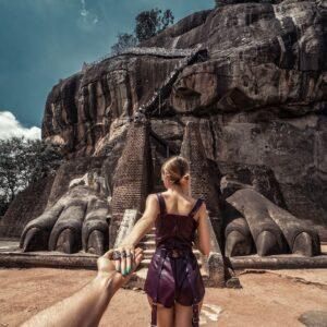 #followmeto Sigiriya Lion Rock with @yourleo