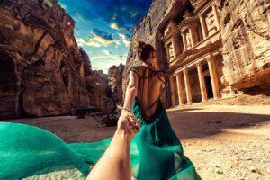 #followmeto the amazing Petra in Jordan.