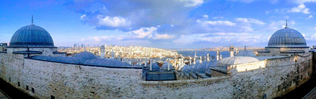 پاناروما از شهر استانبول - عکس از عباس ملک حسینی
