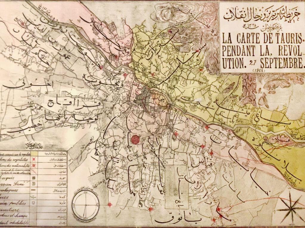 شه قدیمی شهر تبریز در سال ۱۲۸۵ خورشیدی - عکس از عباس ملک حسینی
